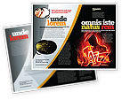 Art & Entertainment: Jazz Brochure Template #05158