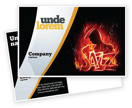 Art & Entertainment: Modello Cartolina - Jazz #05158