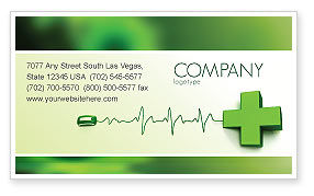 Medical: Medical Website Business Card Template #05159