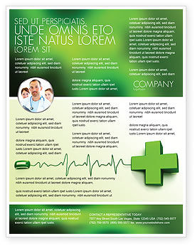 Medical: Medical Website Flyer Template #05159
