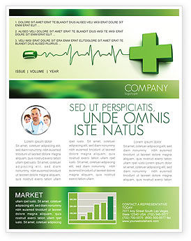 Medical: Medical Website Newsletter Template #05159