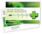 Medical: Medical Website Postcard Template #05159