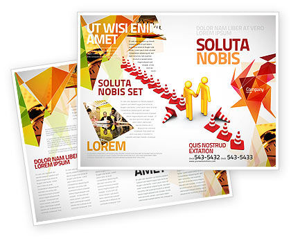 Consulting: Breaking Boundaries Brochure Template #05163