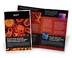 Medical: Microbiology Material Brochure Template #05164