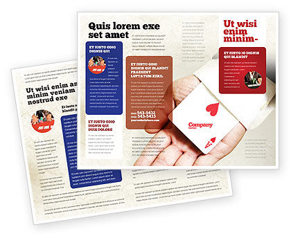 Consulting: Ace of Hearts Brochure Template #05168