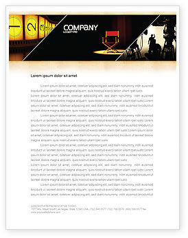 Art & Entertainment: Film Director Letterhead Template #05179