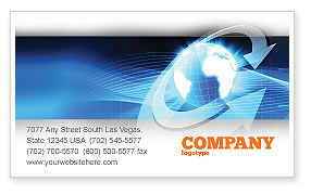 Global: Global Interactive Business Card Template #05197