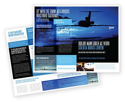 Air Flight Brochure Template