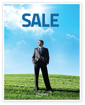 Happy Future Sale Poster Template
