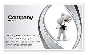 Prize Business Card Template