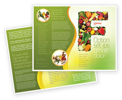 Food Brochure Template Design and Layout Download Now 05225 – Health Brochure Template