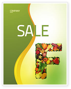 Food & Beverage: Food Sale Poster Template #05225