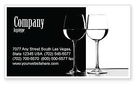 Careers/Industry: Black and White Business Card Template #05226