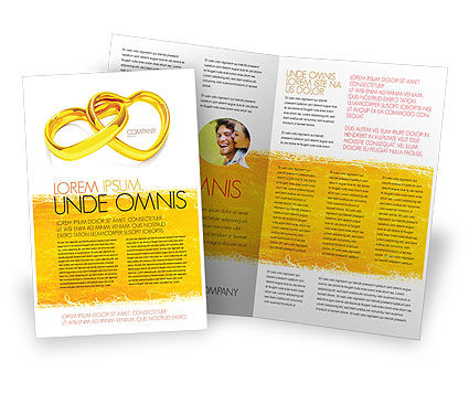 Wedding Day Brochure Template Design And Layout, Download Now