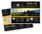 Flags/International: Stonehenge Brochure Template #05232