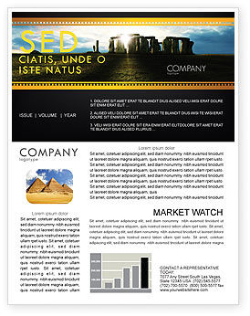 Flags/International: Stonehenge Newsletter Template #05232