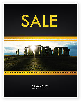 Flags/International: Stonehenge Poster Template #05232