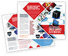 Technology, Science & Computers: Wholesale Electronics Brochure Template #05235