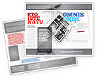 Construction: Home Remodeling Plan Brochure Template #05239