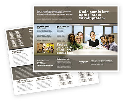 Business: Working Group Brochure Template #05248