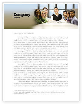 Business: Working Group Letterhead Template #05248