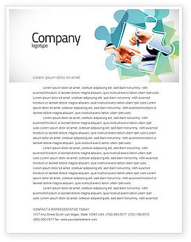 Negotiation In Progress Letterhead Template, 05249, Business — PoweredTemplate.com