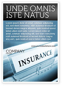 Careers/Industry: Insurance Ad Template #05253