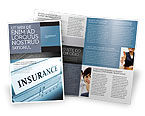 Careers/Industry: Insurance Brochure Template #05253