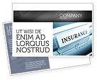 Careers/Industry: Insurance Postcard Template #05253
