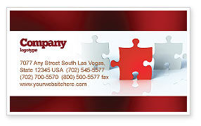 Guess Business Card Template, 05262, Consulting — PoweredTemplate.com