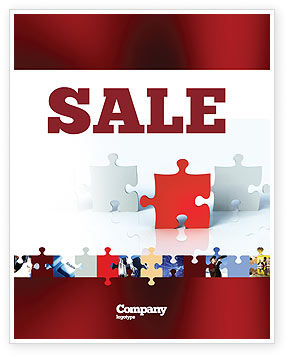Guess Sale Poster Template, 05262, Consulting — PoweredTemplate.com