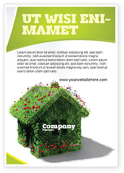 Careers/Industry: House of Flowers and Herbs Ad Template #05268
