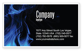 Abstract/Textures: Smoke Business Card Template #05269