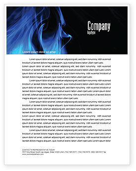 Smoke Letterhead Template, 05269, Abstract/Textures — PoweredTemplate.com