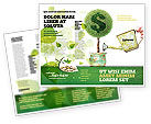 Financial/Accounting: Money Tree Brochure Template #05271