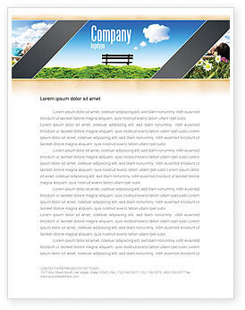 Nature & Environment: Bank Briefpapier Template #05275