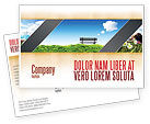 Nature & Environment: Plantilla de la postal - banco #05275