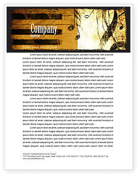 Careers/Industry: Piano Keyboard With Treble Clef Letterhead Template #05289