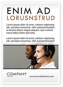 Careers/Industry: Telecomoperator Advertentie Template #05311