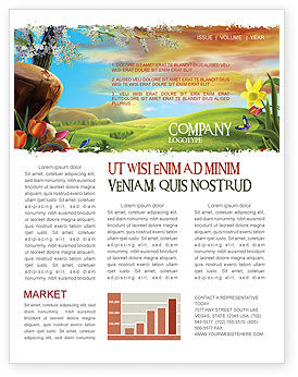 Nature & Environment: Fine Sunrise Newsletter Template #05312