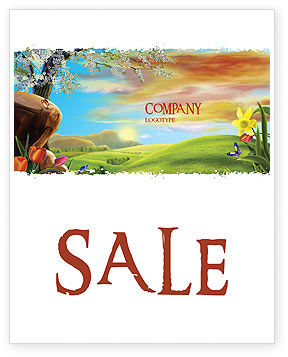 Fine Sunrise Sale Poster Template, 05312, Nature & Environment — PoweredTemplate.com