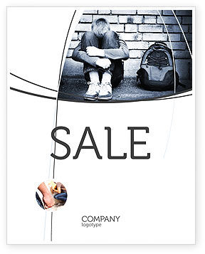 School Bullying Sale Poster Template, 05317, Consulting — PoweredTemplate.com