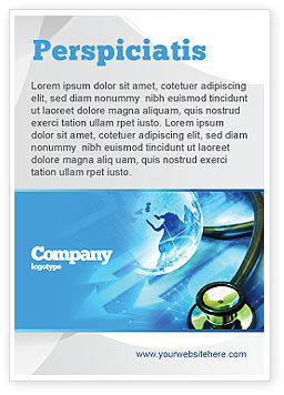 Global: Medical World Ad Template #05318