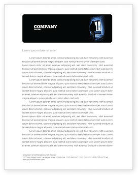 Loneliness Letterhead Template, 05322, People — PoweredTemplate.com