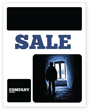 Loneliness Sale Poster Template