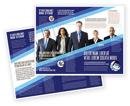 Business Professionals Brochure Template