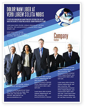 Business Professionals Flyer Template