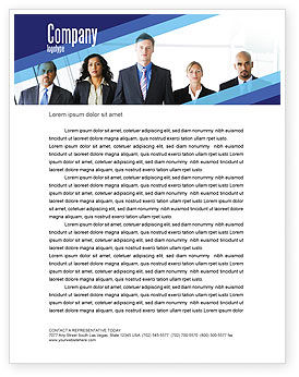 Business Professionals Letterhead Template, 05332, Business — PoweredTemplate.com
