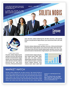 Business Professionals Newsletter Template, 05332, Business U2014  PoweredTemplate.com  Business Newsletter Templates Free Download
