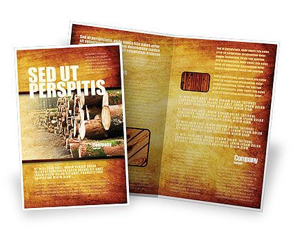 Saw Mill Brochure Template